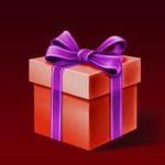 Piros ajándék